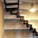 Модульная лестница «Элегант» поворотная (90 градусов)
