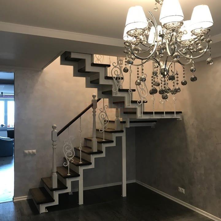 модульная-лестница-Элегант-разворотная-180 град