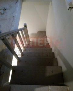 Деревянная лестница «Эволес Бук»