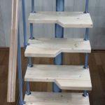 Ступень из сосны для лестниц серии Престиж Мини-3