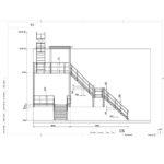 Наружная лестница Стамет-3-2