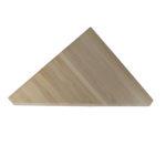 Ступень треугольная из бука -540