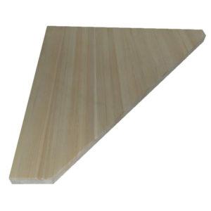Ступень треугольная из лиственницы 900х40мм