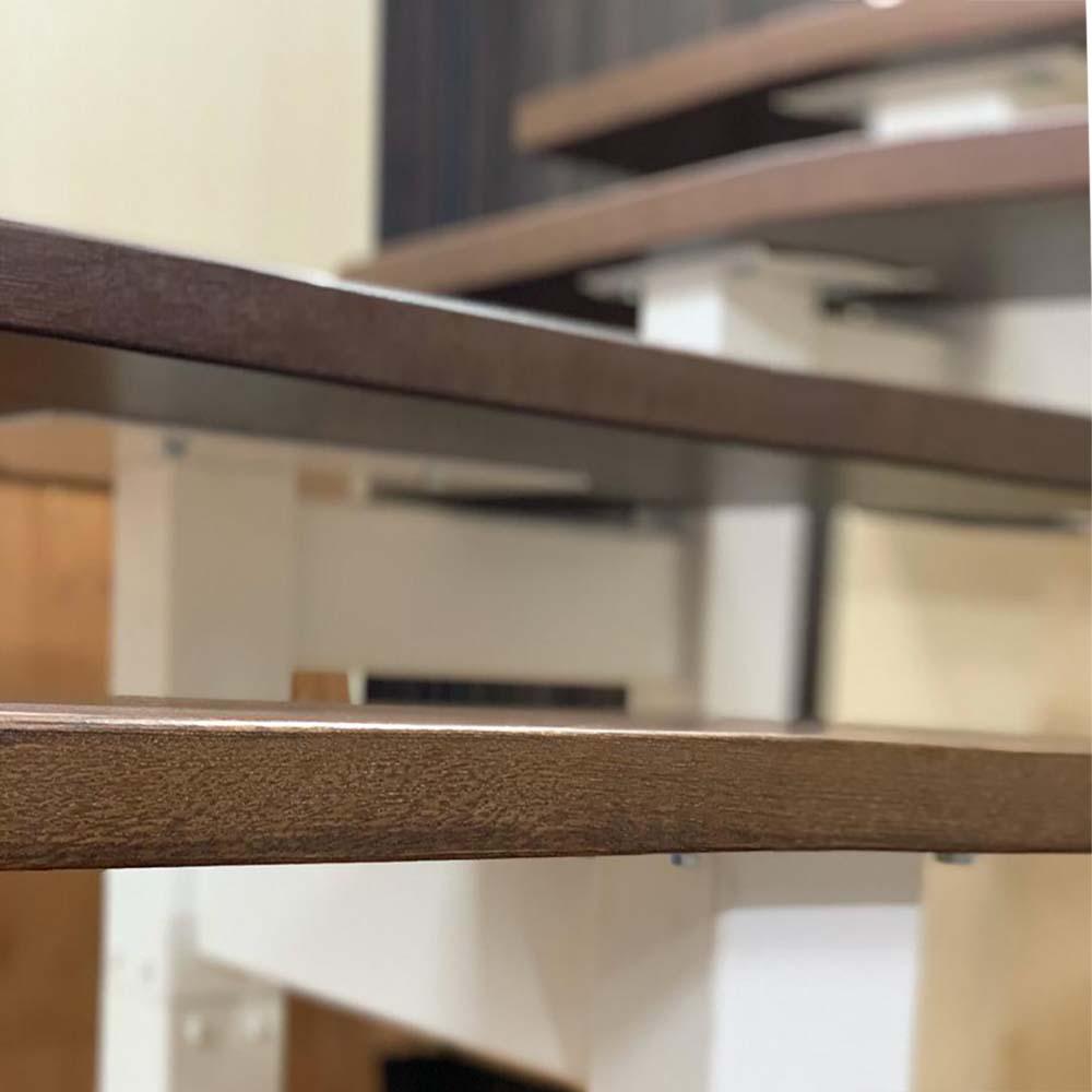 разворотная лестница серии Квадро