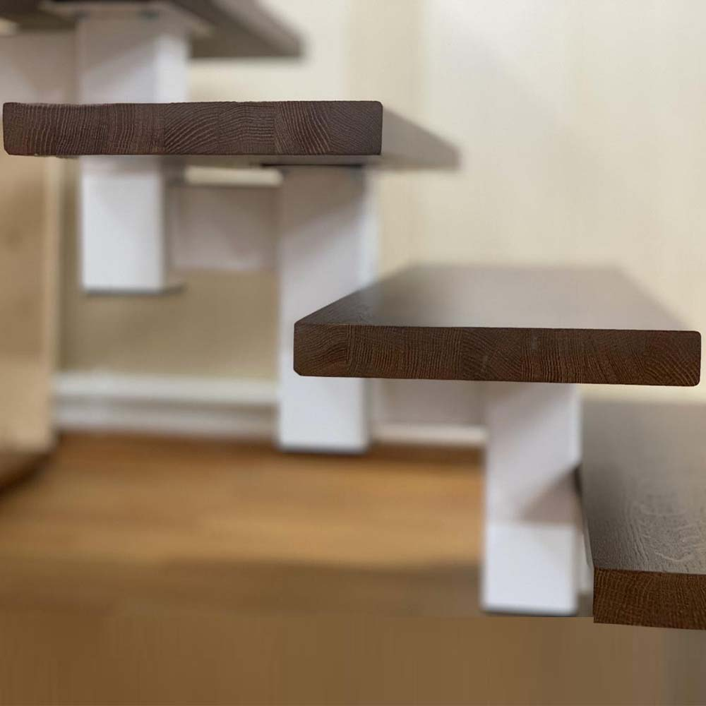 прямая лестница серии Квадро