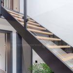 Стеклянное ограждение лестницы, балкона, веранды, баллюстрады, террасы-8