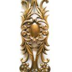 Балясина ЛеГранде 4 цветка (антик бронзовый) художественное литье2