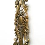 Балясина ЛеГранде 4 цветка (антик бронзовый) художественное литье5