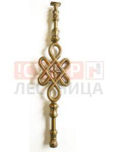 Балясина ЛеГранде Автодром (антик бронзовый) художественное литье