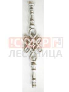 Балясина ЛеГранде Автодром (бриллиантовый муар) художественное литье