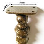Балясина ЛеГранде Столб 92 со вставкой (антик бронзовый)-2
